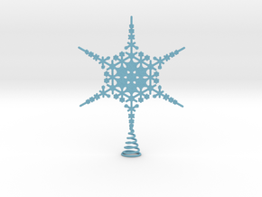 Sparkle Snow Star - Fractal Tree Top - MP3 - M in Full Color Sandstone