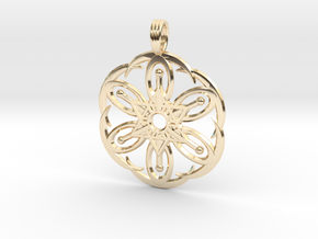 MOON BLOSSOM in 14K Yellow Gold