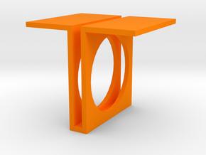 Future Trends collection - size 9 US in Orange Processed Versatile Plastic