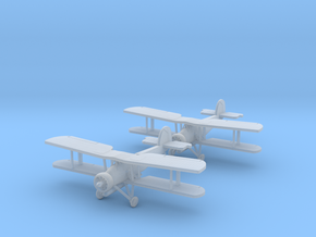"1:200 Fairey Swordfish ""Wingman w/Torps"" in Smooth Fine Detail Plastic"