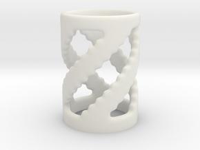 Chess Set Pawn in White Natural Versatile Plastic
