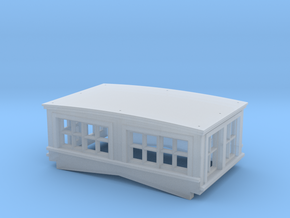 CN GT GTW cupola O Scale in Smooth Fine Detail Plastic
