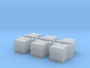 Caboose SSW Battery Box in Smooth Fine Detail Plastic
