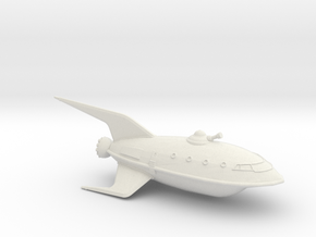 1/537 Futurama Planet Express (WSF Hollow) :-) in White Natural Versatile Plastic