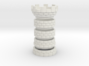 The Tower [FINAL] Seperated in White Natural Versatile Plastic
