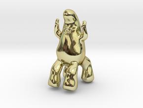 JazzHands in 18k Gold Plated Brass