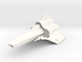 "Viper MK-IV    3"" in White Processed Versatile Plastic"