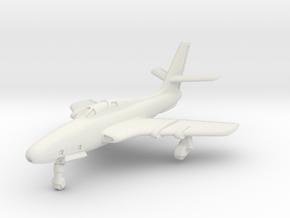 Republic RF-84F Thunderflash (Landing Gear) 1/285 in White Strong & Flexible