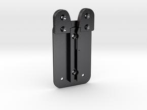 Kylo Ren: Lightsaber Belt Clip (V2) in Polished and Bronzed Black Steel