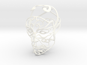 WireHead in White Strong & Flexible Polished