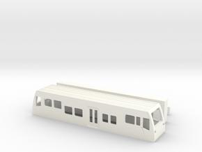 Burgenlandbahn TT1/120 1-120 1:120  Standmodell V2 in White Strong & Flexible Polished
