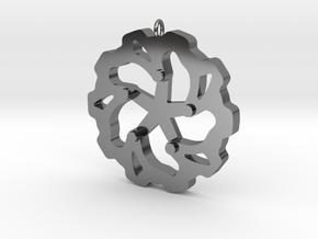 Moto: Rotorheart in Premium Silver