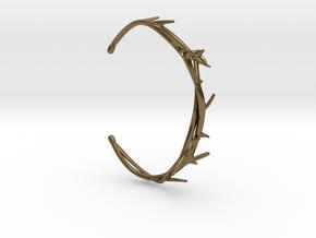 Thorn Bracelet in Polished Bronze