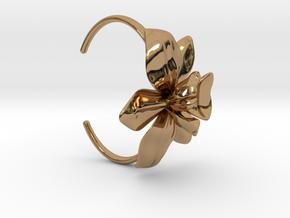 Orchid Bracelet- Metal Version in Polished Brass
