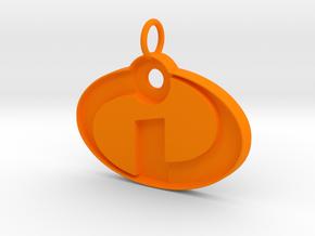 The Incredibles  in Orange Processed Versatile Plastic