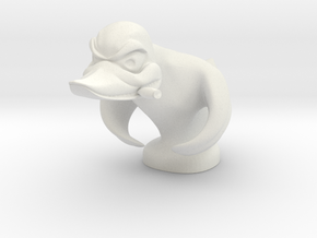 Death Proof Duck in White Strong & Flexible