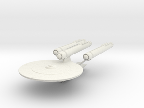 Constellation Class Dreadnought in White Strong & Flexible