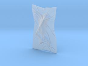 Shroud shape penholder 003 in Smooth Fine Detail Plastic