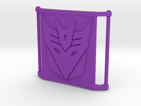 CharmBig - Decepticon in Purple Processed Versatile Plastic