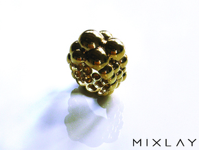 Bubbling V3.0 17 in Polished Brass