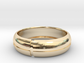 WB-v7 in 14K Yellow Gold