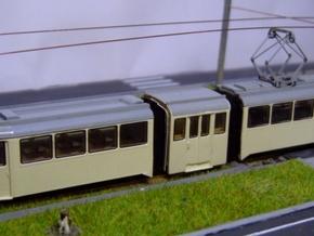Bausatz für Hansa GT4 auf Basis Kato-Düwag, 1:160 in Frosted Ultra Detail