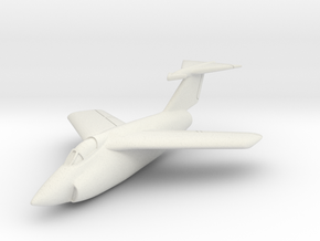 Grumman XF10F Jaguar (In Flight) 1/285 6mm in White Natural Versatile Plastic
