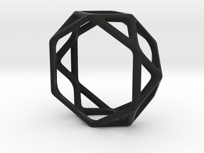 Structural Ring size 9,5 in Black Natural Versatile Plastic