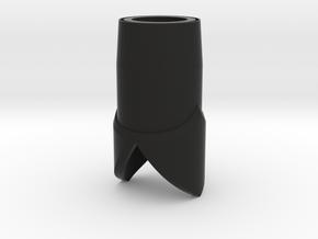 Emmeteur LOTR  star wars lightsaber in Black Natural Versatile Plastic