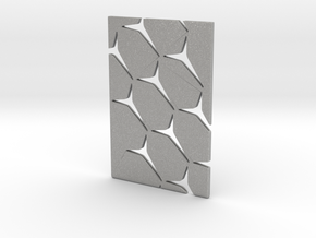 Youniversal Cardholder, Structured, Accessoir in Aluminum