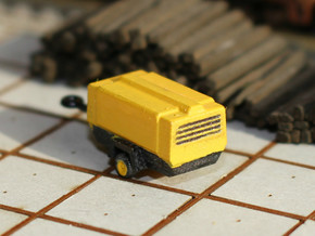 TT Scale Atlas Copco Mobile Compressor in Smooth Fine Detail Plastic