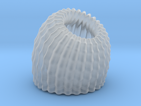 Brain Coral Jewellery Container in Smooth Fine Detail Plastic