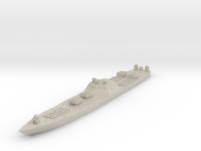 Arsenal Ship 1:1800 X1 in Natural Sandstone