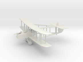 1/144 or 1/100 RAF FE.2d in White Natural Versatile Plastic: 1:144