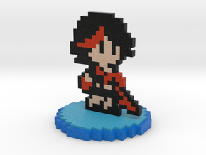 8-Bit Ryuko Matoi in Full Color Sandstone