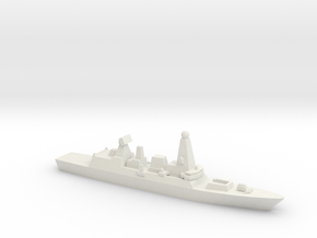 Type 45 DDG, 1/3000 in White Natural Versatile Plastic
