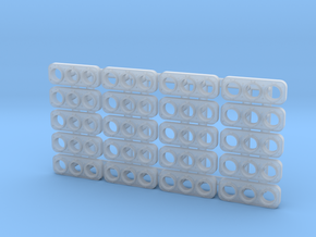 Oscitrol Light (N - 1:160) 20X in Smoothest Fine Detail Plastic