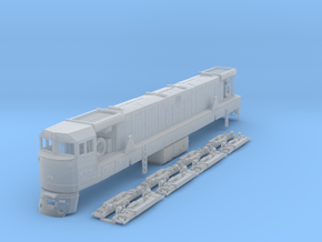 TT Scale U50 in Smooth Fine Detail Plastic