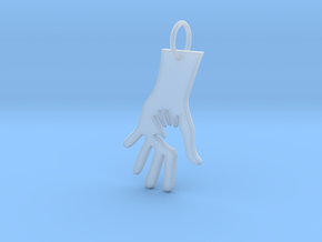 Helping Hand in Smooth Fine Detail Plastic