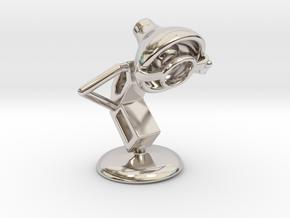 Lala - Single Eye Glass - DeskToys in Platinum