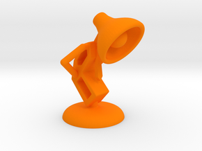 Lala - Trying Tie - DeskToys in Orange Processed Versatile Plastic