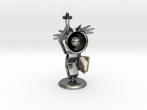Lala - State of liberty - DeskToys in Fine Detail Polished Silver