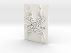 Spider1 in White Processed Versatile Plastic