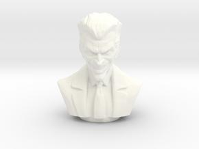 The Joker in White Processed Versatile Plastic