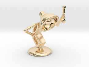 "Lala as ""Mechanic"" - DeskToys in 14K Yellow Gold"