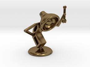 "Lala as ""Mechanic"" - DeskToys in Polished Bronze"