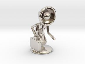 "Lala as ""Executive Manager"" - DeskToys in Platinum"