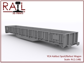 YCA Halibut - N Scale in Smooth Fine Detail Plastic