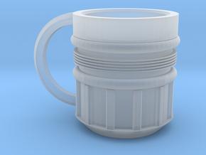 Rocket Mug in Smooth Fine Detail Plastic