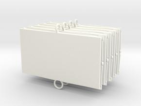 Baci Perugina Frame - Five in White Processed Versatile Plastic